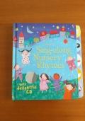 Libro per bambini in inglese della usborne SINGALONG NURSERY RHYMES