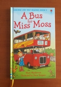 A BUS FOR MISS MOSS libro per bambini in inglese