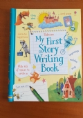 MY FIRST STORY WRITING BOOK in inglese per bambini