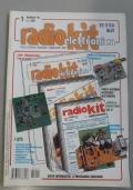 Radiokit elettronica- Tecnica e costruzioni-radiantismo-strumentazione-hobby , anno 2002  incompleta, mancano i n.2,4,6