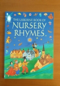 BOOK OF NURSERY RYHMES in inglese per bambini della usborn
