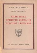 Studi sulle Operette Morali di Giacomo Leopardi