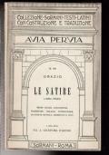 LE SATIRE, LIBRO PRIMO, CON COSTRUZIONI, VERSIONE INTERLINEARE, ARGOMENTI E NOTE, N.69
