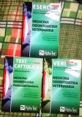 Alpha Test ESERCITEST 2 , VERITEST 2 , I TEST PER LA CATTOLICA ( Lotto Stock Medicina Veterinaria Odontoiatria Professioni sanitarie Biotecnologie Farmacia CTF, Scienze biologiche )