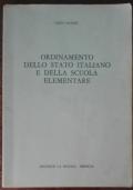 Ordinamento dello stato italiano e della scuola elementare