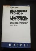 Dizionario Tecnico Inglese Italiano - Italiano Inglese