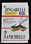 Lo Zingarelli - Vocabolario della lingua italiana