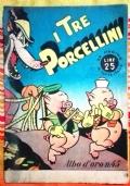 I tre porcellini Albo d'oro 45 ( Originale Mondadori Prima edizione )