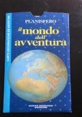Planisfero il mondo dell'avventura