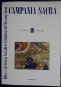 Campania sacra. Rivista di Storia Sociale e Religiosa del Mezzogiorno. Volume 49.
