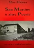SAN MARTINO E ALTRE POESIE
