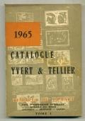 FILATELIA - CATALOGUE YVERT & TELLIER - 1965 - TOMO I