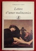 LETTERE D'UMOR MALINCONICO