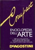 ENCICLOPEDIA DELL'ARTE DE AGOSTINI - 9000 VOCI 230 TAVOLE 120 CARTINE 1423 ILL.
