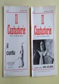 IL CANTASTORIE-RIVISTA DI TRADIZIONI POPOLARI-TERZA SERIE-ANNATA COMPLETA 1987-3 NUMERI-25 (76) GENNAIO-MARZO-26/27 (77-78) APRILE-SETTEMBRE-28 (79) OTTOBRE-DICEMBRE-burattini-marionette-pupi-reggio emilia-parma-giordano ferrari-piemonte-canti sociali-pol