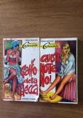 Lotto 2 libri della collana Gli amori di Casanova di Giacomo Casanova.