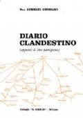 Diario clandestino ( appunti di  vita partigiana)