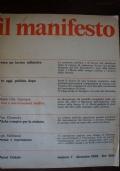 RIVISTA:IL MANIFESTO NUMERO 7  ANNO  I   DICEMBRE 1969 ERNESTO CHE GUEVARA