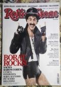 Rivista ROLLING STONE MAGAZINE Italia N. 40 - febbraio 2007 BORAT ( Sacha Baron Cohen Sienna Miller Kaiser Chiefs Rod Stewart Joss Stone The Stooges )