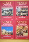 VENETI - Venezia Padova Treviso - Storia immagini meraviglie segreti (4 volumi)