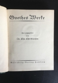 Goethes Werte