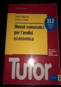 Metodi matematici per l'analisi economica