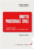 Diritto processuale civile - Vol III
