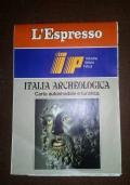 ITALIA ARCHEOLOGICA CARTA AUTOSTRADALE E TURISTICA