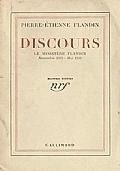 DISCOURS - Le ministère Flandin  Novembre 1934 - Mai 1935