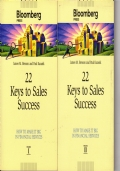 22 keys to sales success - 1 e 2 -- How to make it big in financial services