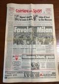 Corriere dello sport 29 aprile 1996 29/4/1996 MILAN SCUDETTO n. 15 ( Sport Calcio Capello )