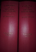 A History of Russian philosophy 2voll