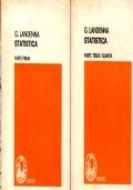 Statistica - Parte 1 e parte terza e quarta