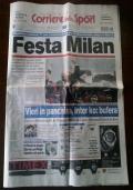 Corriere dello sport 3 maggio 2004 3/5/2004 MILAN SCUDETTO n. 17 ( Sport Calcio Ancelotti )