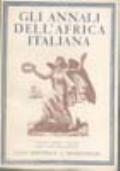 GLI ANNALI DELL'AFRICA ITALIANA ANNO III NUMERO 3