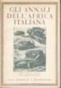GLI ANNALI DELL'AFRICA ITALIANA ANNO IV NUMERO 2