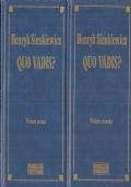 Quo vadis? (2 volumi)