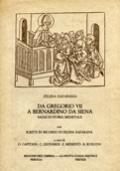 DA GREGORIO VII A BERNARDINO DA SIENA. SAGGI DI STORIA MEDIEVALE