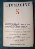 L'IMMAGINE RIVISTA DI ARTE DI CRITICA DI LETTERATURA NOVEMBRE DICEMBRE 1947 N.5