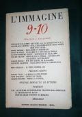 RIVISTA L'IMMAGINE AGOSTO DICEMBRE 1948 OMAGGIO A MALLARME'
