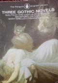 Three gothic novels the Castle of Otranto Patek Frankenstein