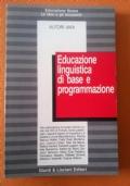 Educazione linguistica di base e programmazione