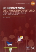 LE INNOVAZIONI DEL PROSSIMO FUTURO TECNOLOGIE PRIORITARIE PER L'INDUSTRIA