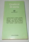 QUADERNI DI STORIA 65 GENNAIO-GIUGNO 2007