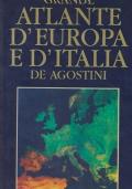 Grande Atlante d'Europa e d'Italia De Agostini