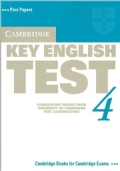 key english test 4: EXAMINATION PAPERS FROM UNIVERSITY OF CAMBRIDGE ESOL EXAMINATIONS