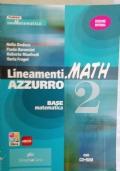 LINEAMENTI MATH AZZURRO 2