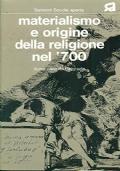 Materialismo e origine della religione del '700