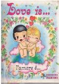 LOVE IS ... AMORE E' ... 1985 Panini album figurine