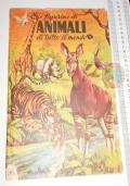 ANIMALI DI TUTTO IL MONDO 50s Lampo - album figurine -6 stickers